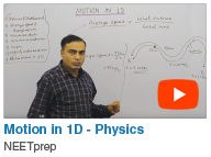 Motion in 1D - Physics